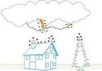 А вашему дому нужна молниезащита?