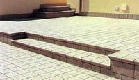 Аксессуары для керамической плитки: плинтусы для плитки, ступени, подступенки и другие