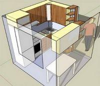 Актуальная проблема: маленькая кухня