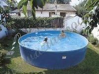 Бассейны для дачи: надувные, сборные бассейны, сборно-разборные, бетонные и пластиковые бассейны