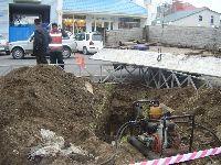 Бестраншейный ремонт водопровода
