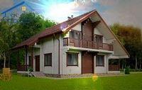 Цены на дома из простого и оцилиндрованного бревна и профилированного бруса