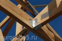 Чем скрепить деревянную конструкцию? крепления деревянной строительной фермы для крыши