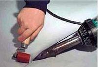 Cварка гидроизоляционного ковра кровельных мембран