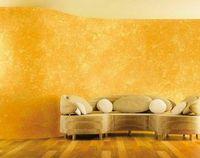 Декоративная покраска стен вместо обоев
