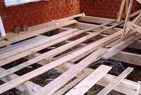 Делаем деревянные полы из массивных досок