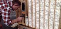 Делаем ремонт, утепляем стены дома с помощью строительной пены