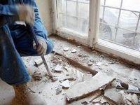Демонтаж окон, подготовка к монтажу деревянных окон