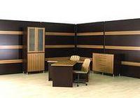 Деревянные стеновые панели - отличное решение для офиса и кабинета руководителя