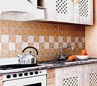 Фартук – как завершение образа кухни
