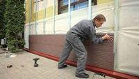 Фасадные работы, монтаж фасадных материалов