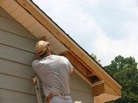 Как подшить крышу софитом - крепление на карниз крыши