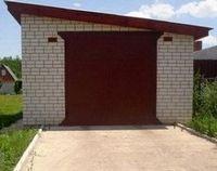 Как построить крышу на гараж