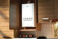 Как встроить отопительный котел в кухонную мебель