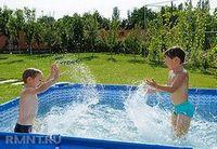 Каркасный бассейн для дачи. выбор, установка и обслуживание