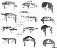 Козырек над крыльцом: виды конструкции и варианты исполнения