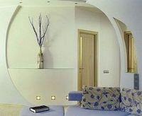 Многоуровневые потолки со встроенным освещением