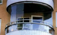 Новая система остекления балконов и лоджий