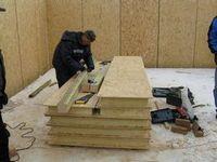 Новейшая американская технология строительства дома, использующая структурные теплоизоляционные панели