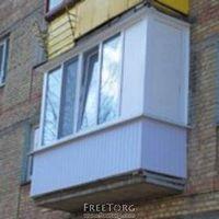 Новенький балкон от профессионалов