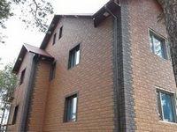 Облицовка дома фасадными панелями от компании мск-кровля