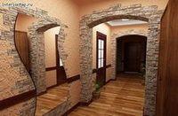 Облицовка стен декоративным камнем
