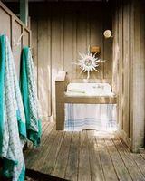 Обои природа квартира стиль ванная комната