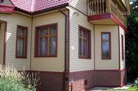 Обшивка деревянного дома сайдингом