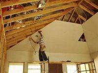 Обшивка дома гипсокартоном внутри помещения: техника крепления, этапы работ