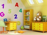 Обустройство мансарды для детской комнаты