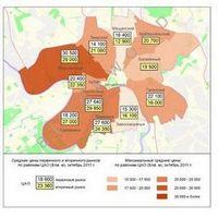Обзор рынка элитного жилья за октябрь 2011 года.