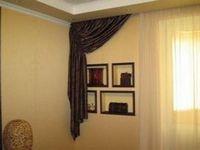 Оформление интерьера шторами и тканями