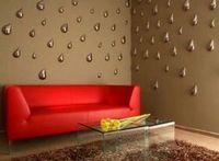 Оформляем стены в гостиной