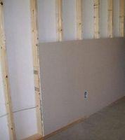 Основные способы крепления гипсокартона к стене