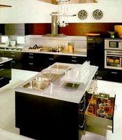 Островная планировка кухни