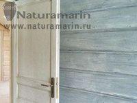 Отделка деревянного дома натуральными покрытиями