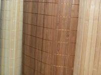 Отделочный материал – бамбук.