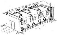 Отопление, вентиляция и кондиционирование офисных помещений бизнес-центров.
