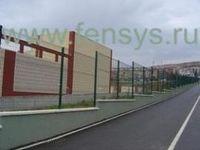 Панельные ограждения fensys. заборы fensys - производство, преимущества