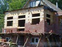 Перестройка дома с минимальными затратами. обкладка стен