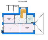 Перестройка дома с минимальными затратами. второй этаж