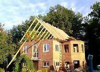 Перестройка дома. возведение новой крыши - продолжение