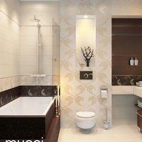 Полный ремонт ванной комнаты