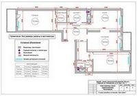 Пример проекта перепланировки квартиры