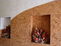 Пробковый интерьер. пробковые покрытия для пола и стен