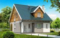 Проекты каркасных домов и коттеджей