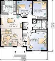 Проекты комбинированных домов и коттеджей