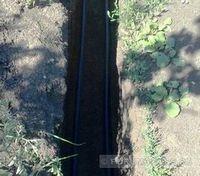 Прокладываем кабель подземным способом