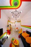 Радужный дизайн квартиры