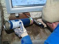 Рекомендация по применению монтажной пены при отрицательной температуре (зимой)